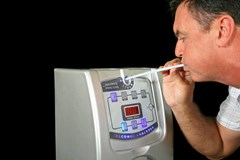 What's the difference between saliva alcohol testing and a breath alcohol machine?