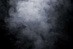 What kind of smoke is used in mask fit testing?