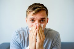Will a cold or sinus infection affect spirometry test results?