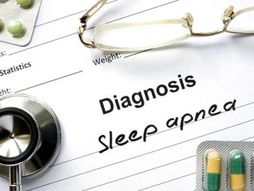 How is sleep apnea diagnosed?